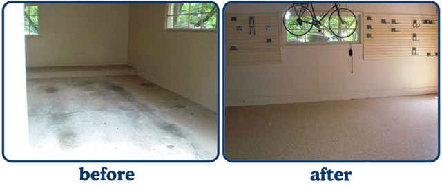 Garage Makeover Gallery Before And After